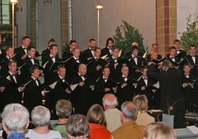 2007: Sommerkonzert mit Ars Vocalis, Erfurt